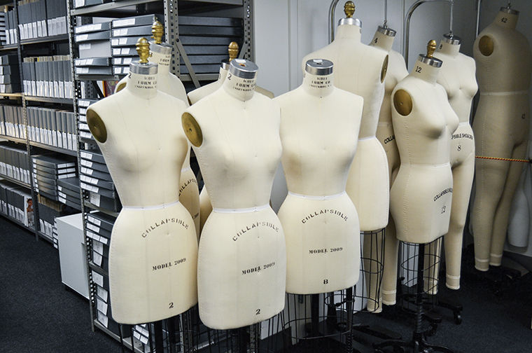 Located on the eighth floor of the 618 S. Michigan Ave. Building, the Fashion Study Collection houses more than 6,000 garments that are resources for Columbia students.
