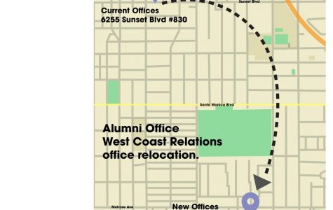 West Coast alumni office changes location