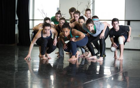 Dancers rehearse for upcoming show inside studio 300 at the Dance Center, 1306 S. Michigan Ave.