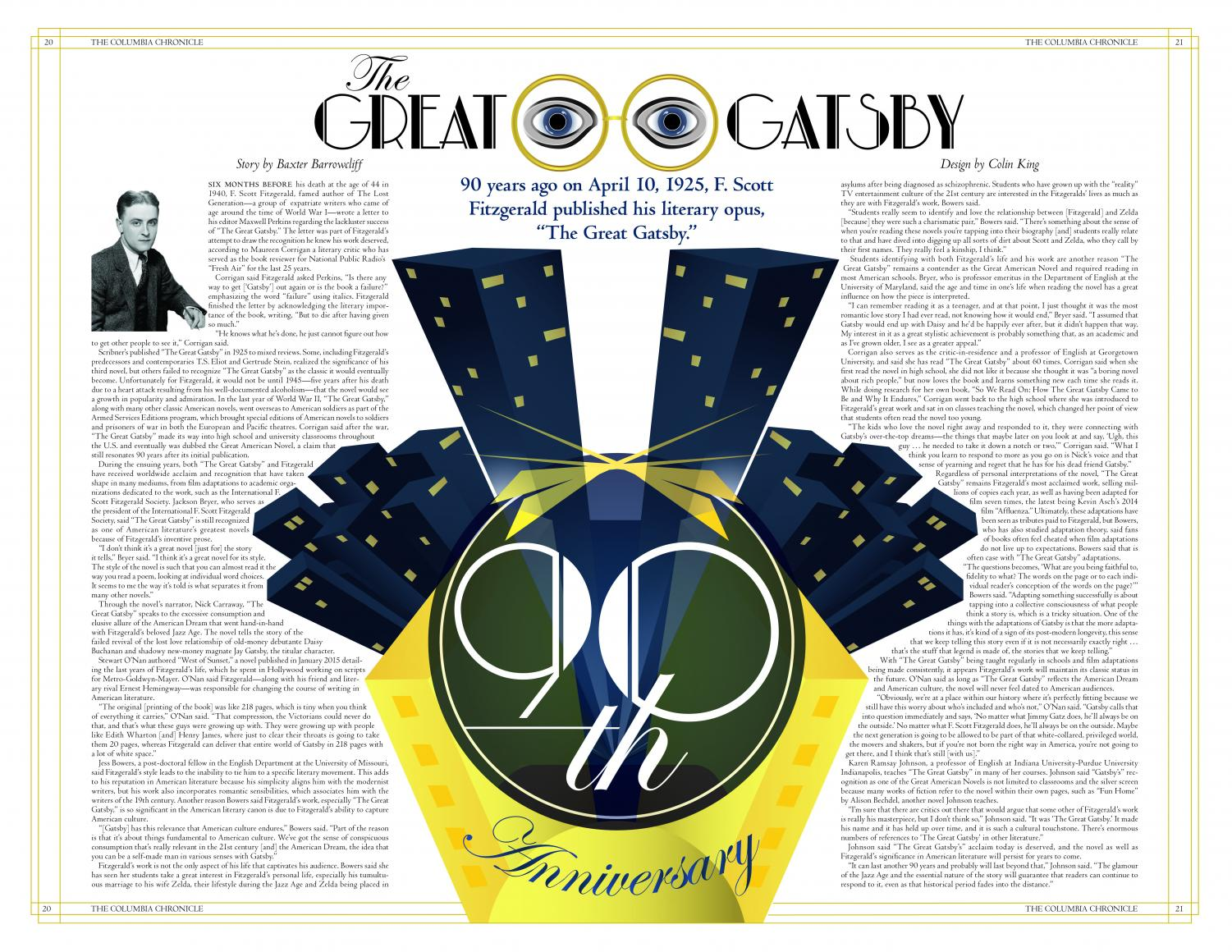 The Great Gatsby 90th Anniversary