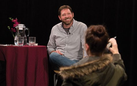 Comedy writer shares industry secrets during box lunch lecture