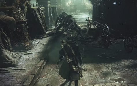 """Bloodborne,"" a combat-based video game, is the newest creation from director Hidetaka Miyazaki released by From Software. ""Bloodborne"" is available on Sony's PS4."