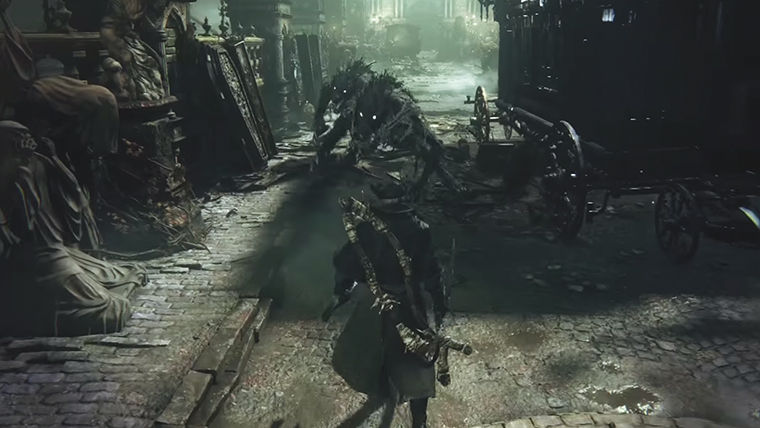 %E2%80%9CBloodborne%2C%E2%80%9D+a+combat-based+video+game%2C+is+the+newest+creation+from+director+Hidetaka+Miyazaki+released+by+From+Software.+%E2%80%9CBloodborne%E2%80%9D+is+available+on+Sony%E2%80%99s+PS4.