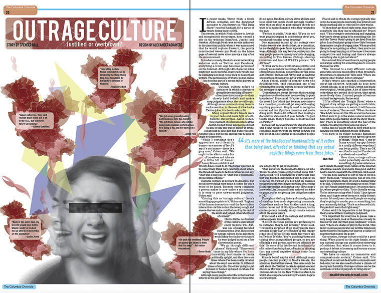 Outrage Culture: Justified or overblown?