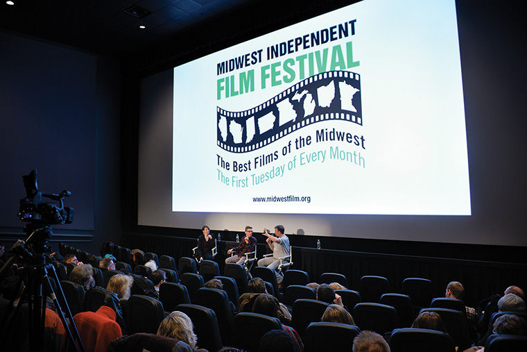 At the Midwest Independent Film Festival on March 3, a Producers Panel spoke about their filmmaking experiences at Landmark's Century Centre Cinema, 2828 N. Clark St.