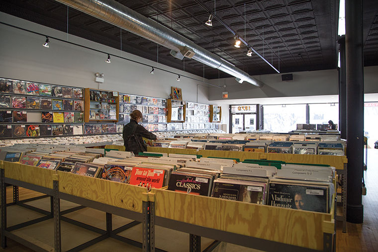 Wicker Park's iconic record store, Reckless Records, opened up shop at a new, spacious storefront on April 16.