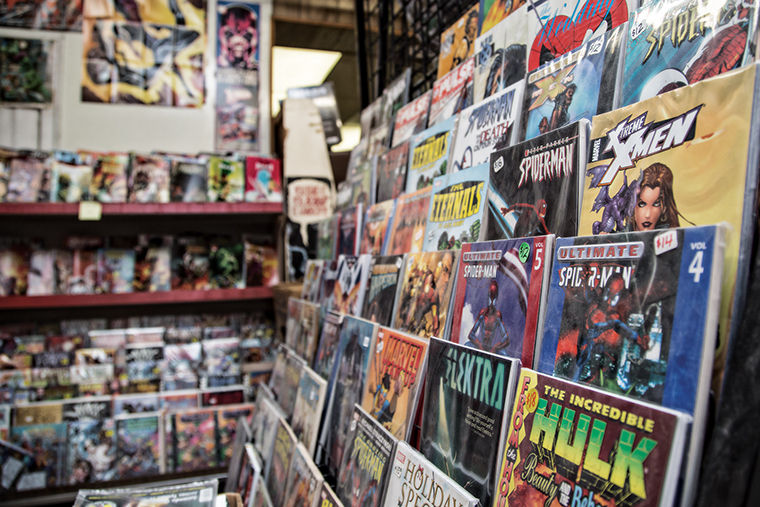 """October is going to be a non-stop 30-day discount frenzy,"" Vin Nguyen said of Variety Comics in a press release. ""Everything must go."""