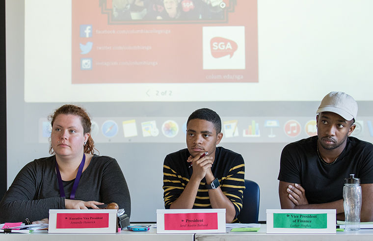 SGA created five new goals, which it plans to begin implementing during the Fall 2015 Semester, according to SGA President and junior journalism major Jerel Ballard.