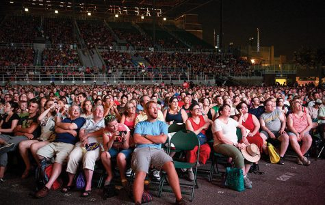 More than 10,000 audience members enjoyed the Internet Cat Video Festival's reel at the 2013 Minnesota State Fair.