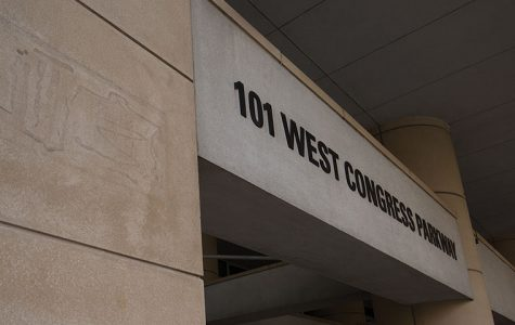 101 W. Congress Parkway is home to many immigrants who go through the naturalization process in Chicago.