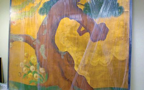 Japanese phoenix paintings enjoy Park District rebirth