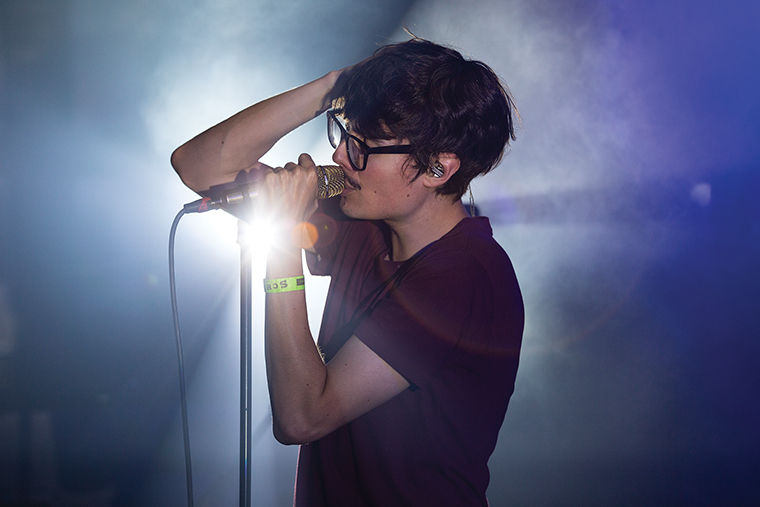 Joywave performed at Lincoln Hall, 2424 N. Lincoln Ave., Sept. 30 to a nearly sold-out venue.