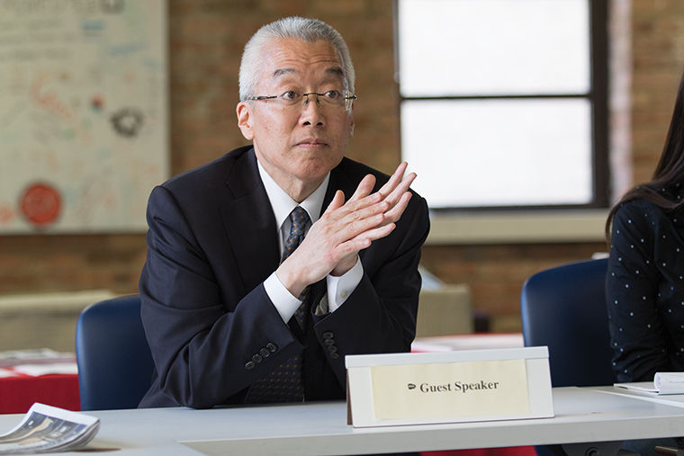 President and CEO Kwang-Wu Kim said he encourages students to bring forward their voices in the MAP grant issue to capture the legislature's attention.