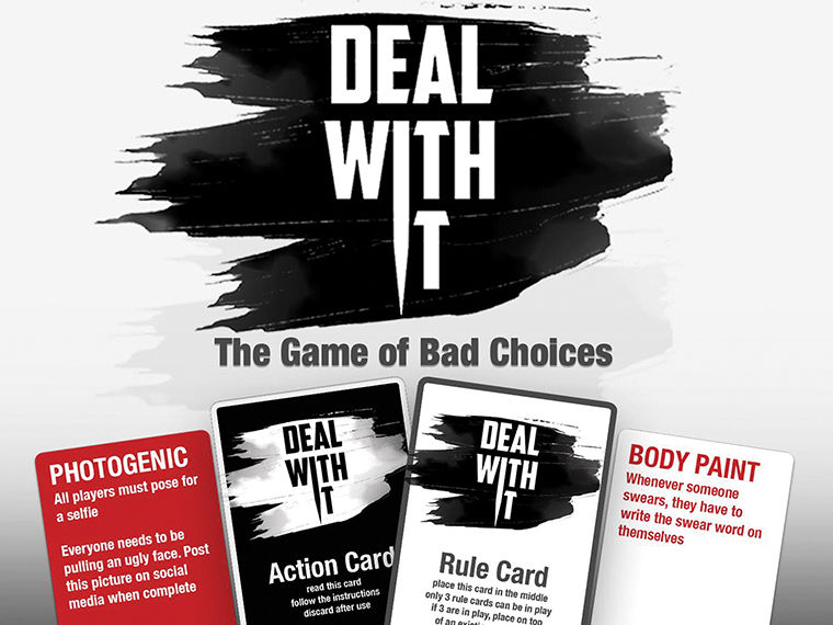 'Deal With It' has two new versions fundraising on Kickstarter now—Deal With It 2016 and EXPLICIT.