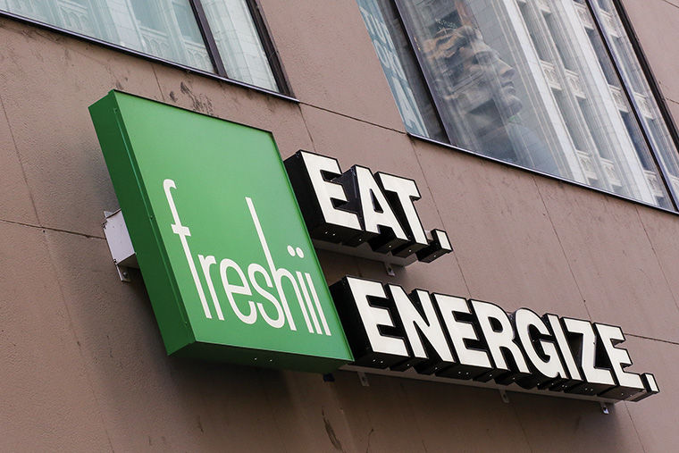 Freshii will offer quick, healthy food options in Target cafes across Chicago.