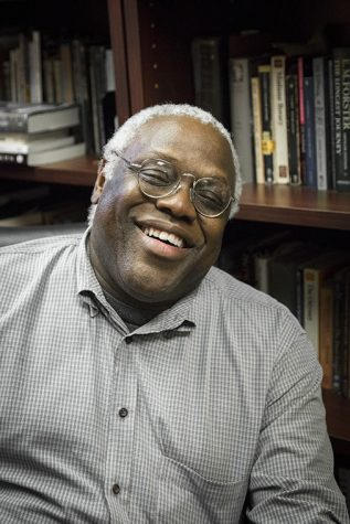 Eric May, an associate professor in the Creative Writing Department, was awarded the Chicago Public Library and Chicago Public Library Foundation's 21st Century Award.