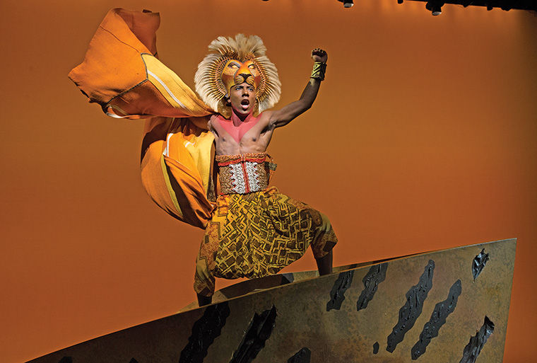 """Aaron Nelson, a 2012 business & entrepreneurship alumnus, will star as Simba in """"The Lion King,"""" which is set to run Dec. 2–Jan. 17."""