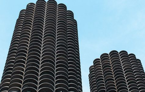 The Marina City towers were designed by Chicago architect Bertrand Goldberg to entice people to live downtown.