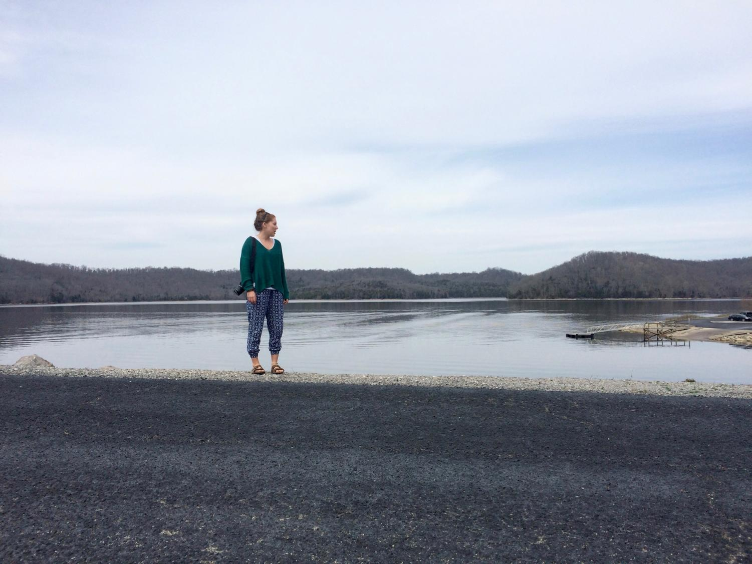 Carlee Belt, a senior television major and environmental studies minor, will spend January in Hawaii as an Artist in Residence and conduct environmental field work.