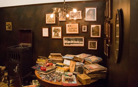 Intuit took possession of the contents of Henry Darger's living space in 2000, which it has compiled in its Henry Darger Room.