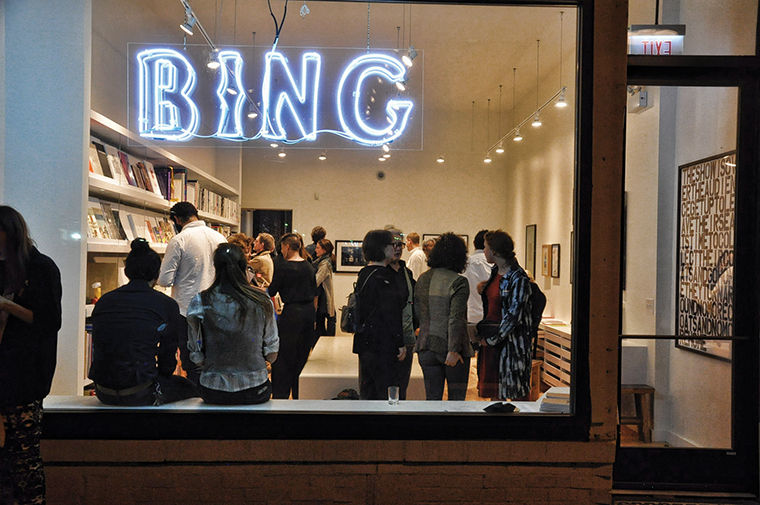 Chris Salmon, general manager of BING Art Books, said the store has not had many patrons yet, other than Nov. 7 when books went on sale, and it will take them some time to build up traffic.