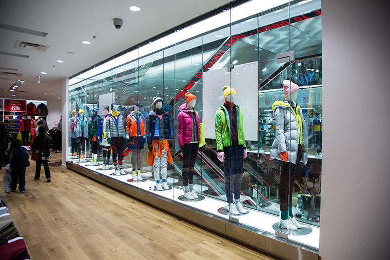 Chicago's Uniqlo is the first in an effort by the company to expand beyond the east and west coast regions.