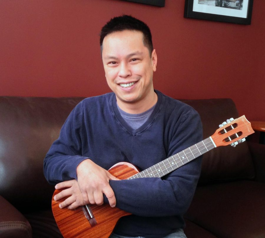 Narciso Lobo has been playing the ukelele for nine years and has drawn in viewers and subscribers for his songs on YouTube and at ukelele festivals.