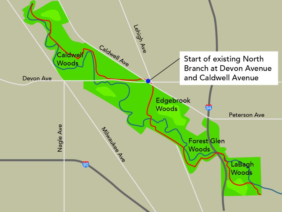 North Branch Trail expansion flows into city limits