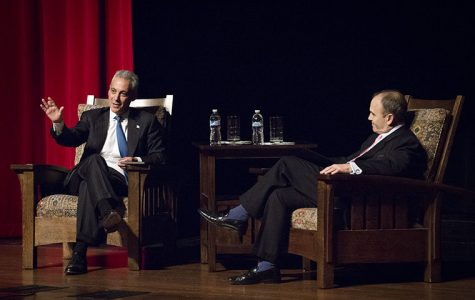 Emanuel speaks  on libraries, culture and personal life
