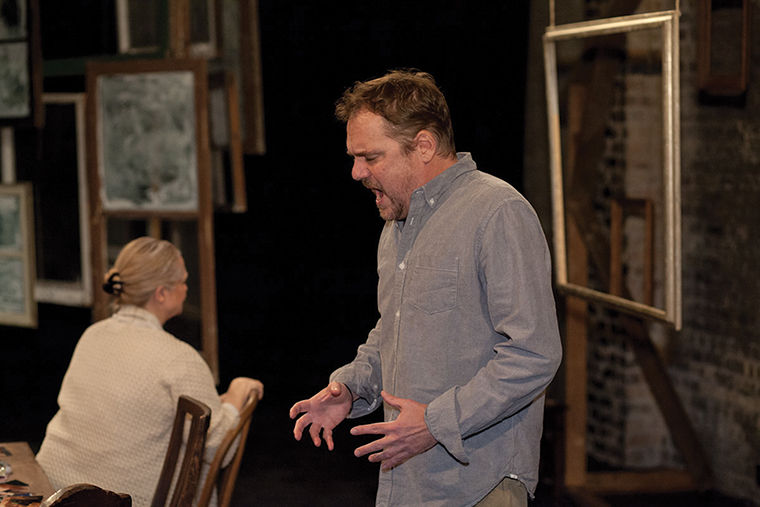 Graham Brown portrays Charlie, the husband of Kristin, the play's main narrator.