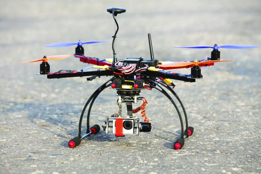 The+city+council+passed+an+ordinance+Nov.+18+restricting+drone+use+in+Chicago.