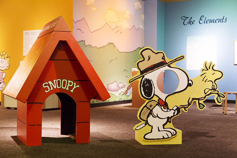 """The Museum uses """"Peanuts"""" as a theme to teach kids science as an interesting attraction."""
