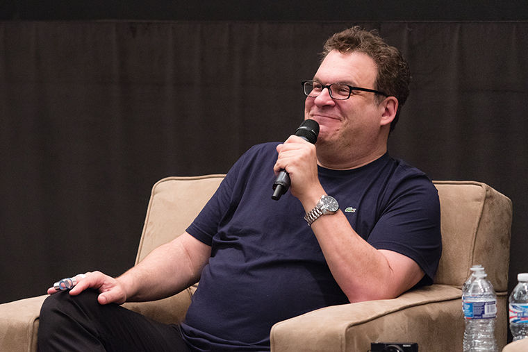 Jeff Garlin: 'You can be as stupid  as you want—you're students!'