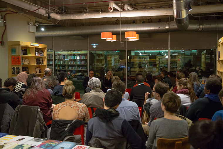 Lisa Wedeen, a University of Chicago professor of political science, led a lively conversation on Nov. 19 about the proxy war in Syria.
