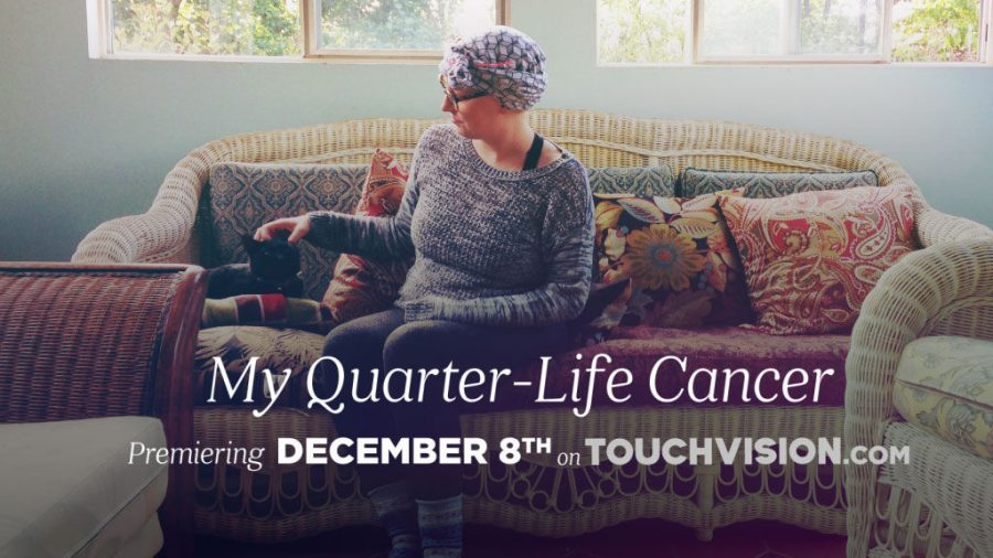 """""""My Quarter-Life Cancer"""" is a documentary about being a young person dealing with a cancer diagnosis, said alumna Brianna Wellen, the subject of the film."""