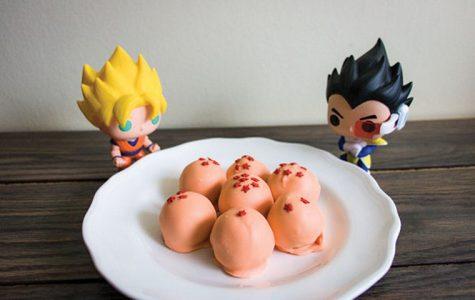 Dragon Ball Cake Pops