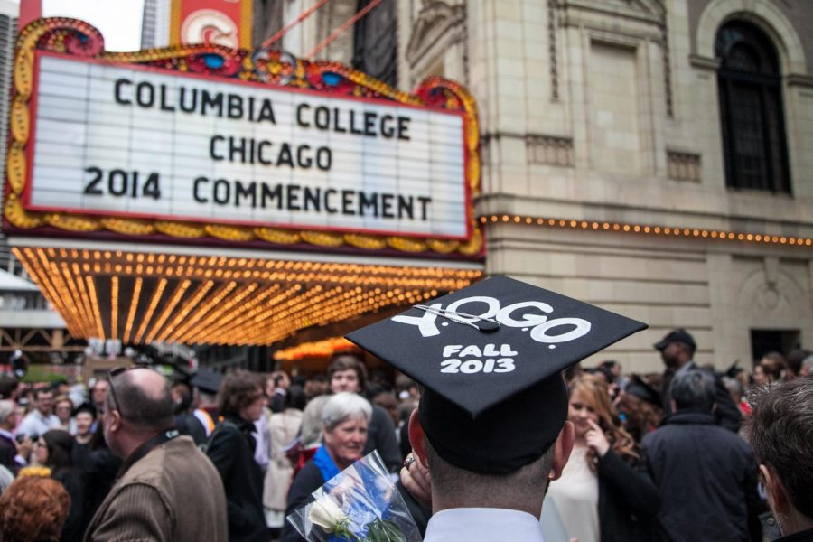 NFL Draft punts graduation  back to The Chicago Theatre