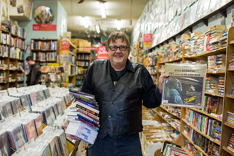 Ric Addy, owner of Shake, Rattle & Read, said business has been slow recently, and he cannot live off what he makes on the weekends anymore, so he decided to sell the store and retire.