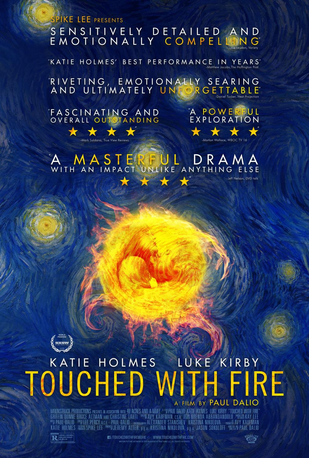 """""""Touched With Fire"""" is director Paul Dalio's first feature-length film."""