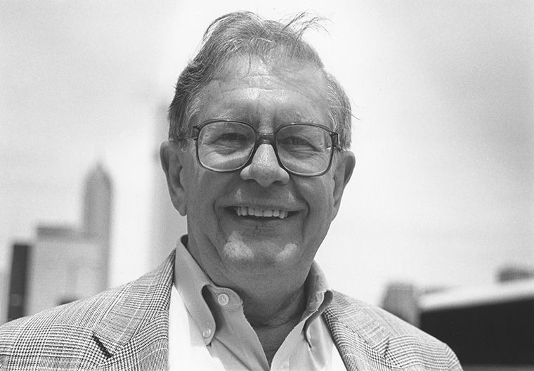 Eric Lund became Columbia's first graduate journalism program director in 1984.