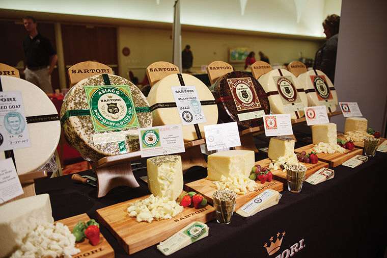 The first annual traveling Cheesetopia was held on April 12, 2015, in Milwaukee, where attendees could sample and purchase cheeses from more than 40 vendors for $25. This year's event is to be held April 10 in Chicago with tickets for $75, as admission includes an open bar and free onsite parking.