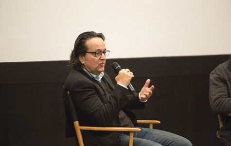 Len Amato, president of HBO Films, gave students advice on the film industry at Film Row Cinema at the 1104 S. Wabash Building.