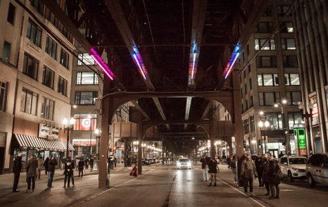 Wabash Lights public art test kick off on Feb. 4 at the corner of Wabash and Monroe.