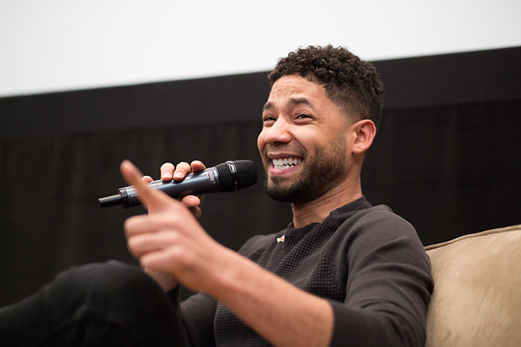 "Jussie Smollett, best known for playing the character Jamal Lyon on the hit Fox drama ""Empire,"" spoke on the importance of diversity in Hollywood at an event celebrating African-American Heritage Month."