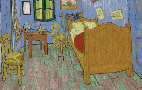 """Vincent van Gogh, """"The Bedroom,"""" 1889. The Art Institute of Chicago, Helen Birch Bartlett Memorial Collection."""