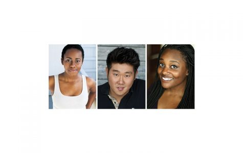 Lisa Beasley, Peter Kim and Aasia LaShay Bullock make up part of e.t.c.'s diverse new cast for the theater's 40th residential stage revue, set to open in April. Katie Klein, Julie Marchiano and Scott Morehead complete the six-person cast.