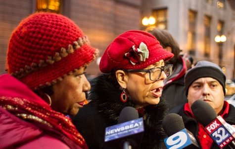 CTU, supporters protest budget cuts, layoffs