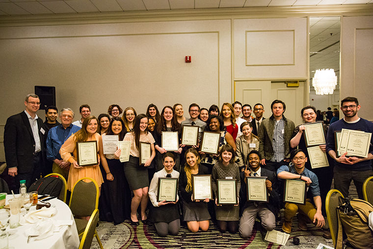 The Columbia Chronicle staff was recognized as the No. 1 college paper in the state Feb. 20 at the Illinois College Press Association awards and won 22 individual prizes in various categories.