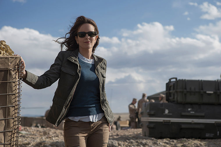 "Tina Fey, who plays Kim Baker in ""Whiskey Tango Foxtrot,"" lunched with author Kim Barker prior to taking on the role."
