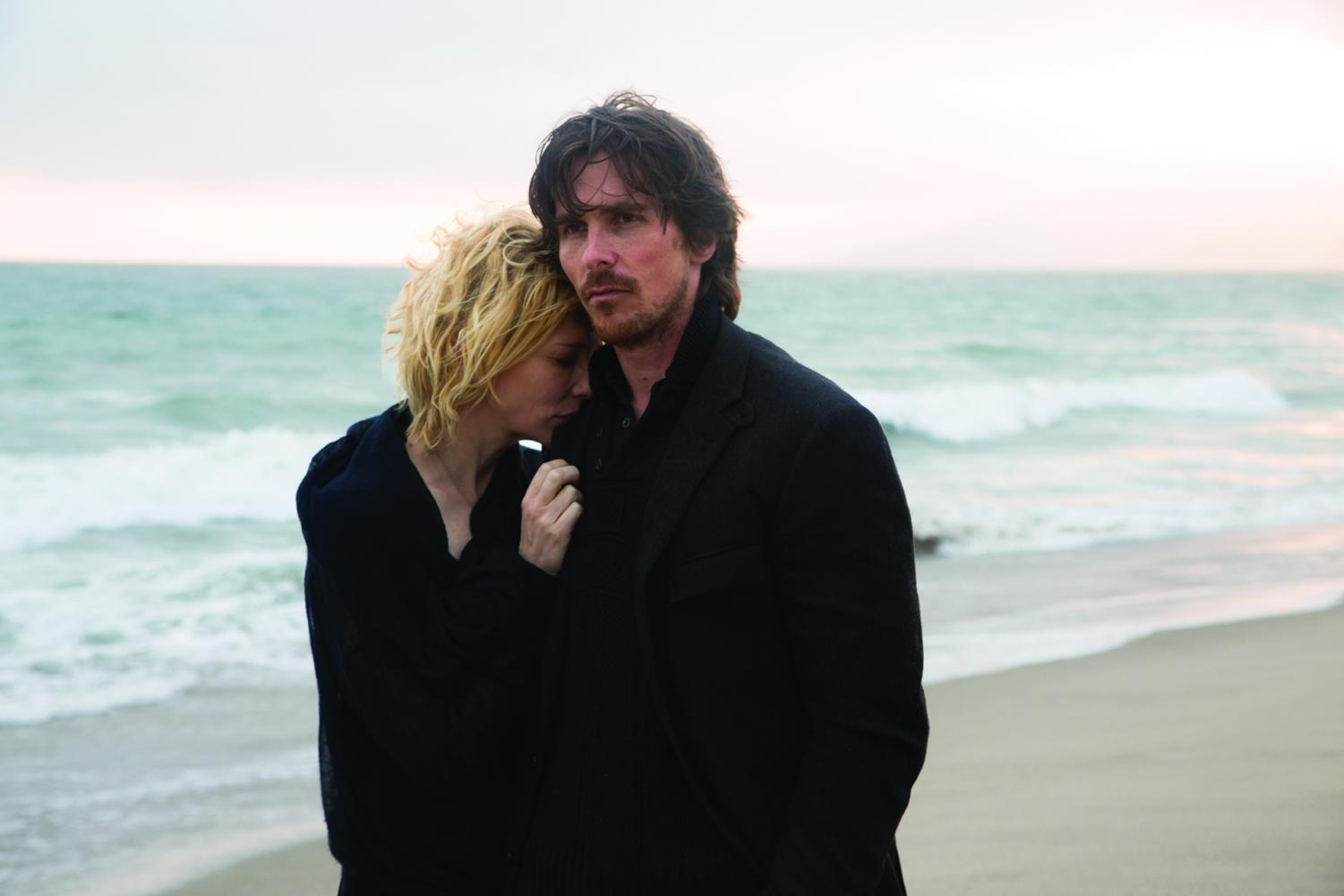 Cate Blanchett stars as 'Nancy' and Christian Bale as 'Rick' in Terrence Malick's drama